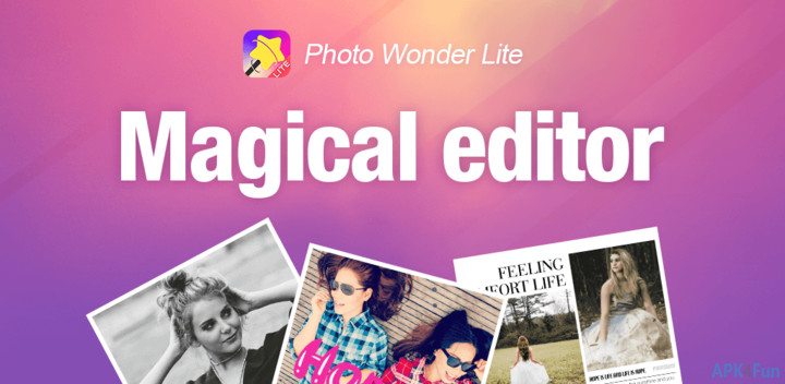 Aplikasi Edit Foto Photo Wonder Lite