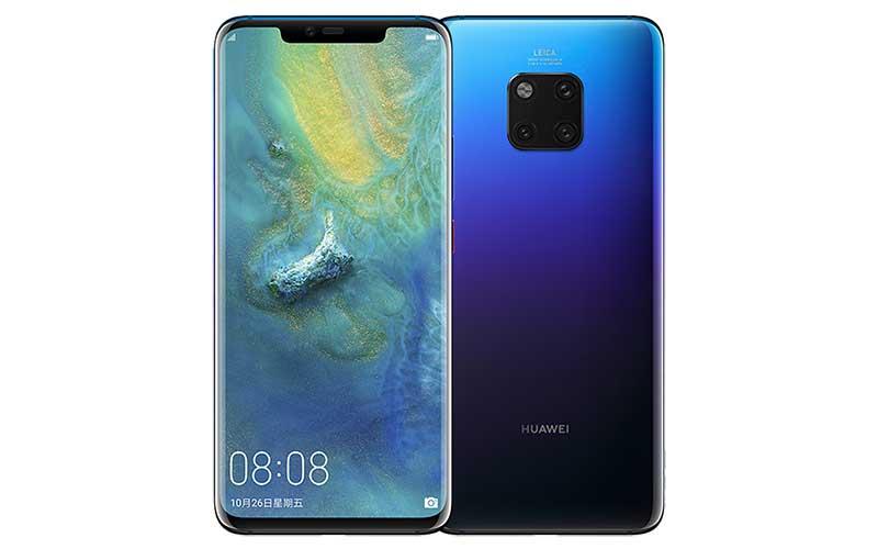 Huawei mate 20 pro smartphone tahan air IP68