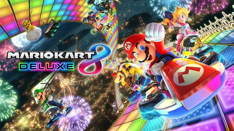 Mario Kart 8 Deluxe Game nintendo switch yang seru