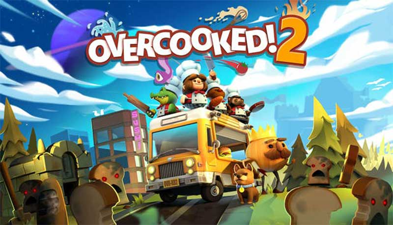 Overcooked 2 Game Nintendo Switch Multiplayer