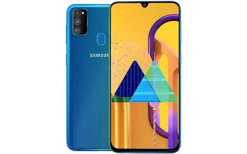 Samsung Galaxy M30s smartphone baterai besar