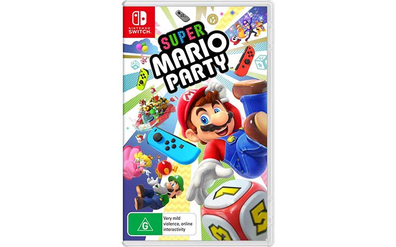 Game Nintendo Switch Multiplayer Super Mario Party