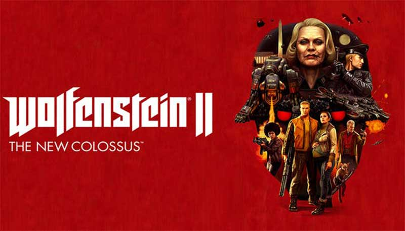 Wolfenstein 2 Game Nintendo Switch yang seru