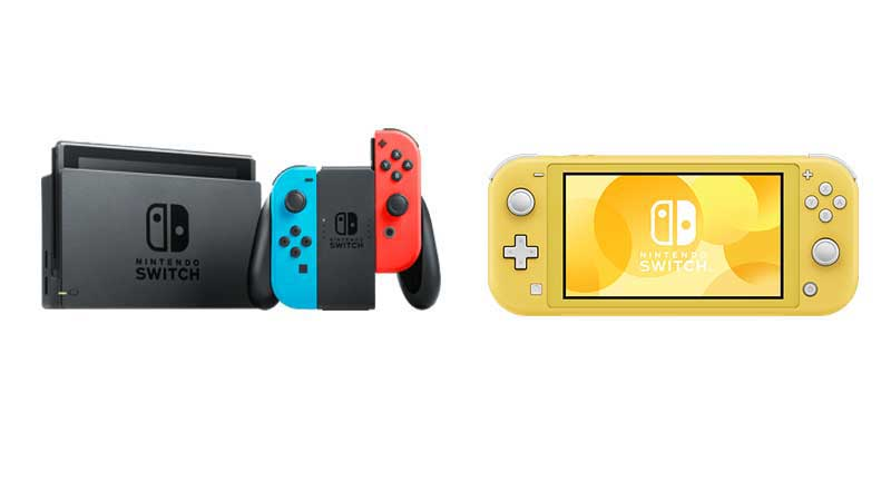 Beda Nintendo Switch dengan Switch Lite pada fleksibilitas