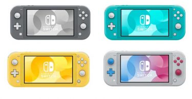 warna bodi Switch Lite